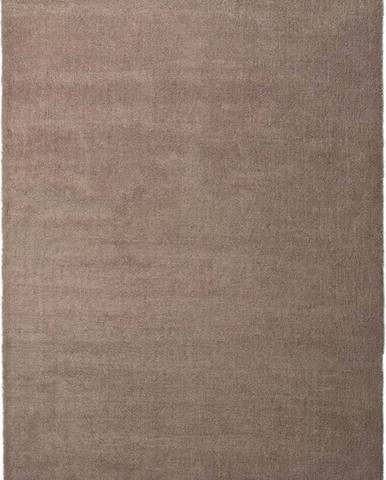 Hnědý koberec Universal Shanghai Liso, 60x110cm