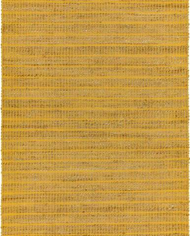 Hořčicový koberec Asiatic Carpets Ranger, 120 x 170 cm