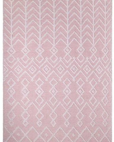 Růžový bavlněný koberec Nattiot Marcel Pink,120x160cm