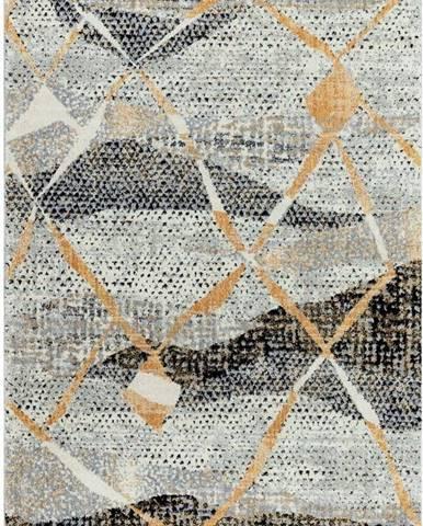 Šedý koberec Asiatic Carpets Omar, 120 x 170 cm