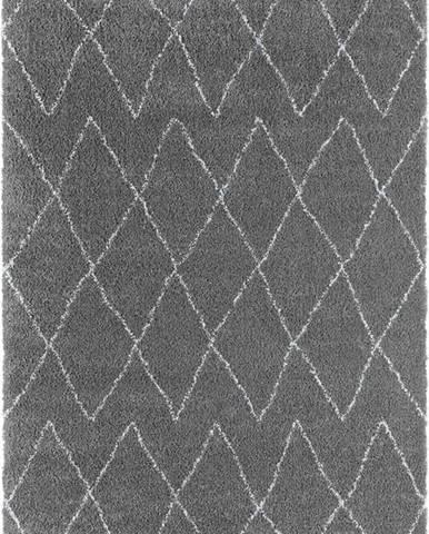 Šedý koberec Mint Rugs Jade, 80 x 150 cm