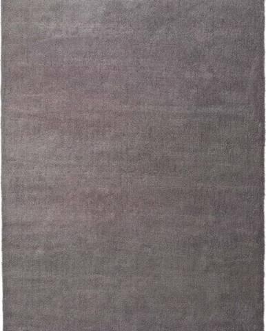 Šedý koberec Universal Shanghai Liso, 140 x 200 cm