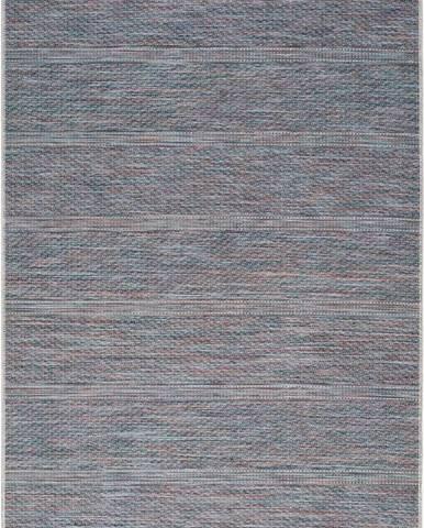 Tmavě modrý venkovní koberec Universal Bliss, 55 x 110 cm