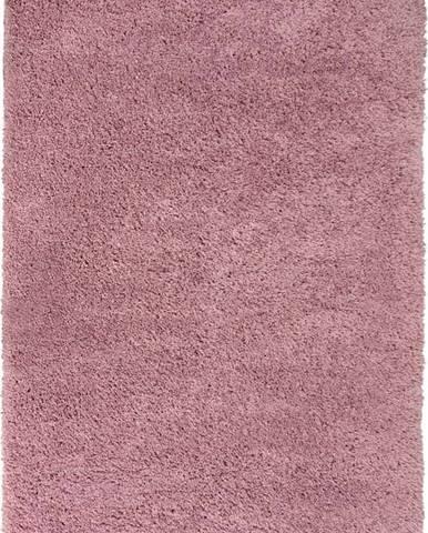 Tmavě růžový koberec Flair Rugs Sparks, 60 x 110 cm