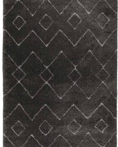 Tmavě šedý koberec Flair Rugs Imari, 120 x 170 cm