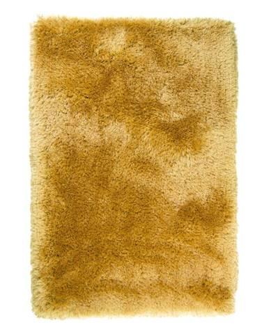 Žlutý koberec Flair Rugs Pearls, 80 x 150 cm