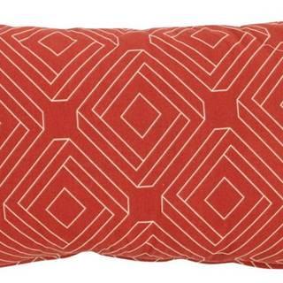 Červeno-oranžový zahradní polštář Hartman Bibi, 30x50cm
