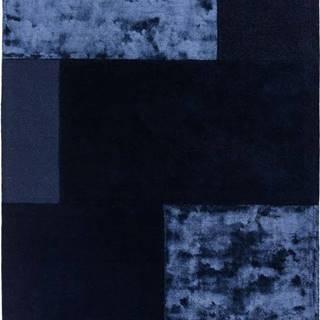 Tmavě modrý koberec Asiatic Carpets Tate Tonal Textures, 160 x 230 cm