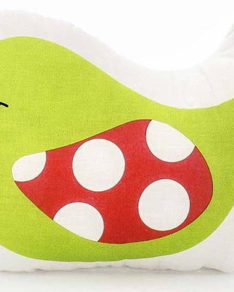 Mr. Fox Bavlněný dětský polštářek Mr. Fox Little Birds, 40x30cm