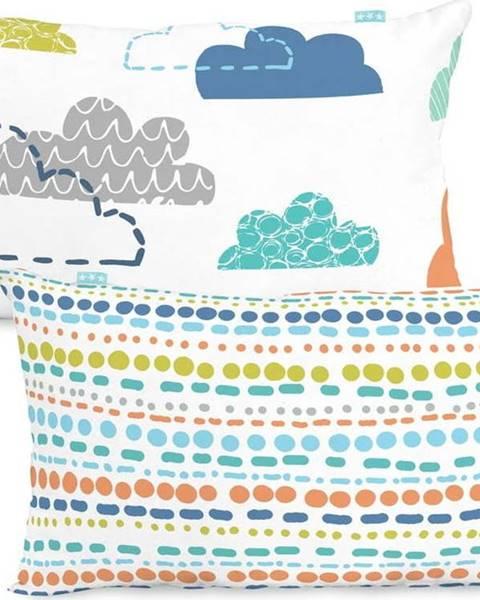Moshi Moshi Bavlněný oboustranný povlak na polštář Moshi Moshi Holidays, 50x30cm