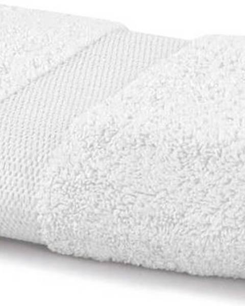 DecoKing Bílý ručník DecoKing Marina, 50 x 100 cm