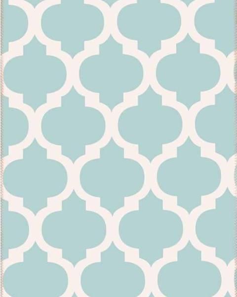 Vitaus Světle modrý koberec Vitaus Elisabeth,80x150cm