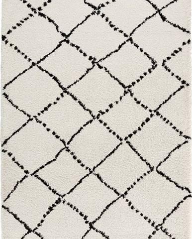 Béžovo-černý koberec Mint Rugs Hash, 160x230cm