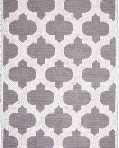 Béžový bavlněný koberec Vitaus Madalyon, 100x150cm
