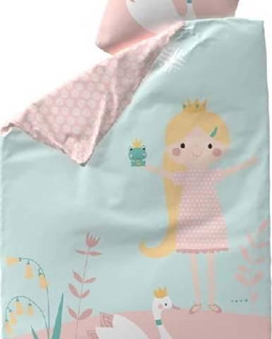 Dětské bavlněné povlečení Flexa Little Princess, 140 x 200 cm + 50 x 70 cm
