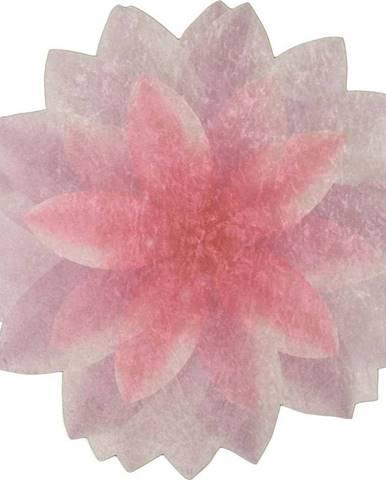 Koberec Vitaus Flowerina, ⌀ 100 cm