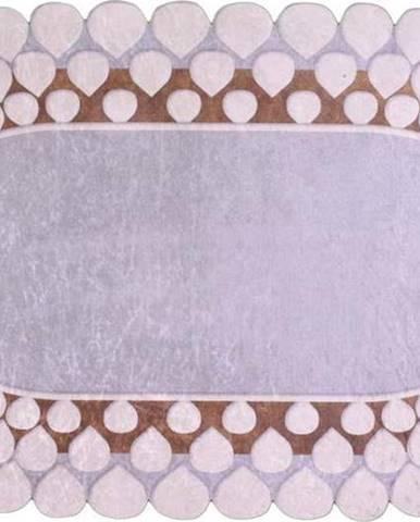 Koberec Vitaus Zinno Oval Kahve, 80 x 120 cm