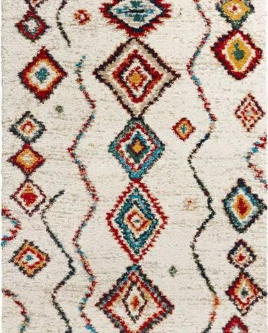 Krémový koberec Mint Rugs Geometric, 120x170cm