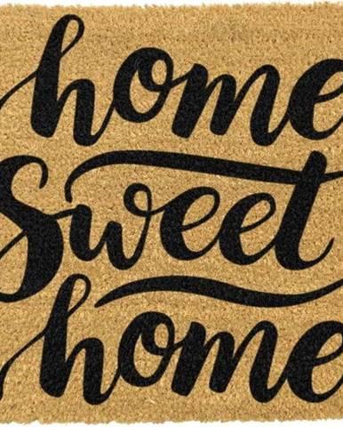 Rohožka z přírodního kokosového vlákna Artsy Doormats Home Sweet Home,40x60cm