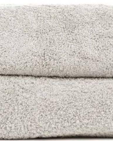 Sada 2 šedohnědých osušek ze 100% bavlny Bonami, 70x140 cm