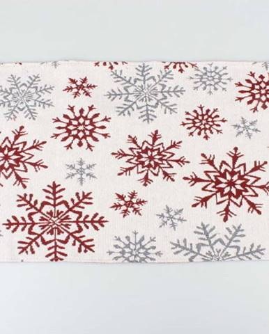 Šedo červené prostírání Dakls Winter, 33 x 48 cm