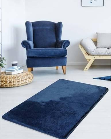 Tmavě modrý koberec Milano, 140x80cm