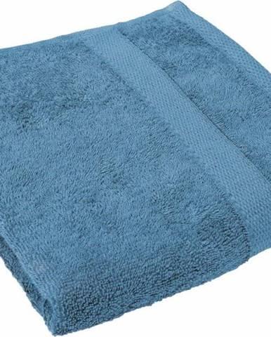 Tyrkysově modrý ručník Tiseco Home Studio, 50 x 100 cm
