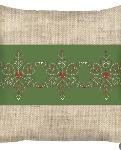 Vánoční povlak na polštář Mike&Co.NEWYORK Honey Deco, 43 x 43 cm