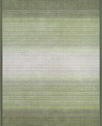 Zelený oboustranný koberec Narma Moka Olive, 70 x 140 cm