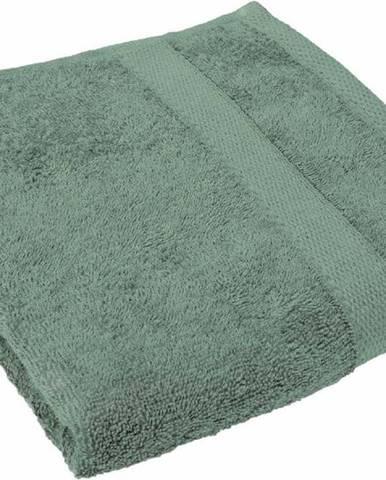 Zelený ručník Tiseco Home Studio, 50 x 100 cm