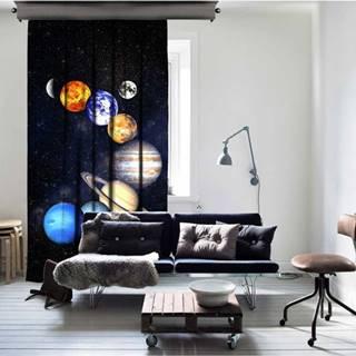 Závěs Curtain Kahnia, 140 x 260 cm