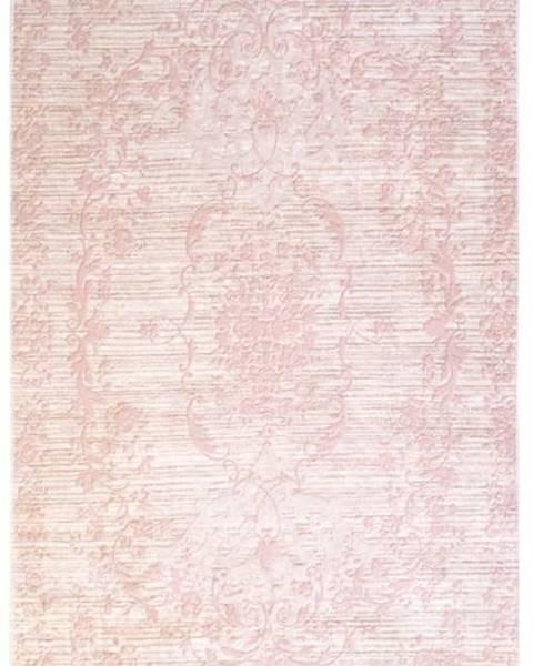 Vitaus Růžový koberec Vitaus Hali Gobekli, 80x150cm