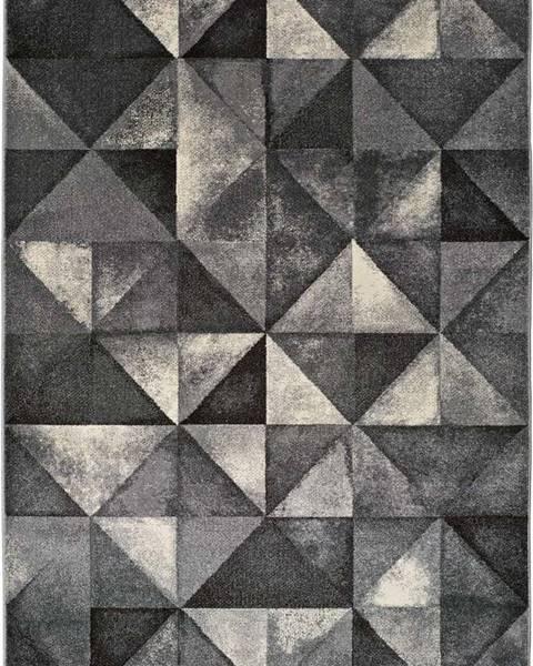 Universal Šedý koberec Universal Delta Triangle, 190x280cm