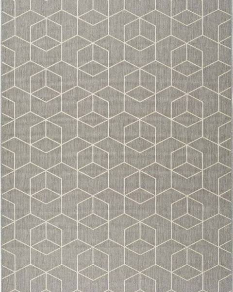 Universal Šedý venkovní koberec Universal Silvana Gusmo, 80x150cm