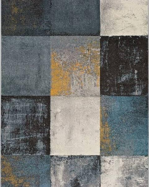Universal Tmavě šedý koberec Universal Adra Azulo, 115 x 160 cm
