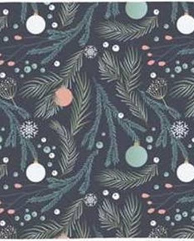 Bavlněný běhoun s vánočním motivem Butter Kings Christmas Deco,140x40cm