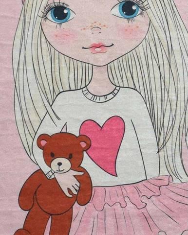 Dětský protiskluzový koberec Chilai Best Friend,140x190cm