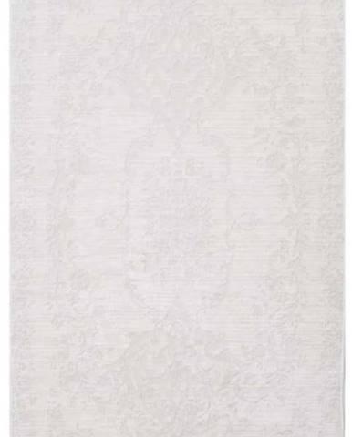 Krémový koberec Vitaus Hali Gobekli, 50x80cm