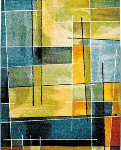 Modro-žlutý koberec Universal Lenny Multi, 160x230cm