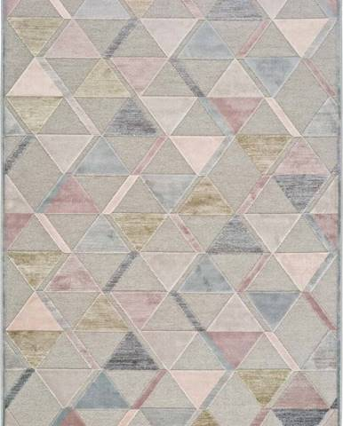 Šedý koberec Universal Margot Triangle, 160 x 230 cm