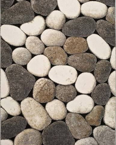 Šedý koberec Universal Pebble, 120x170cm