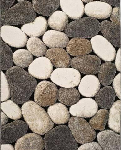 Šedý koberec Universal Pebble, 160x230cm