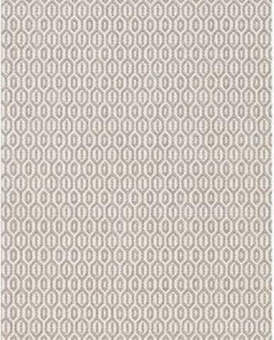 Šedý venkovní koberec Bougari Coin, 80x200cm