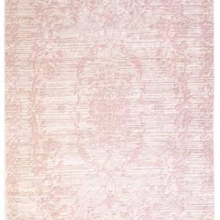 Růžový koberec Vitaus Hali Gobekli, 80x150cm