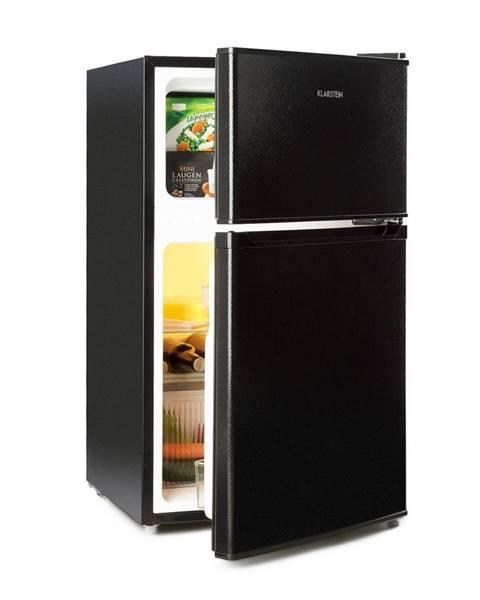 Klarstein Klarstein Big Daddy Cool, lednice s mrazákem, 61/26 litrů, 42 dB, A +, černá