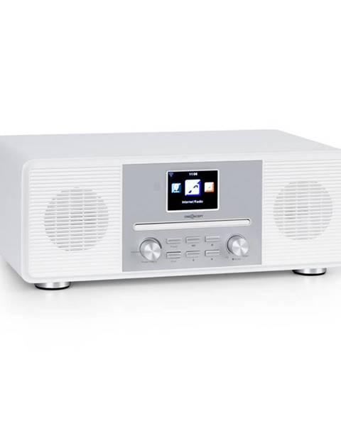 OneConcept OneConcept Streamo CD, internetové rádio, 2 x 10 W, WLAN, DAB+, FM, CD přehrávač, BT, bílé