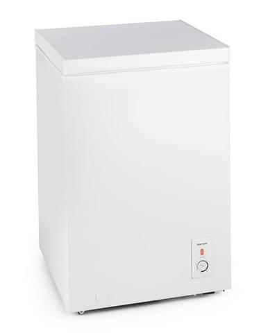 Klarstein Ice Block, bílý mrazicí box, mrazák, 100 l, 75 W, A +