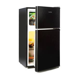 Klarstein Big Daddy Cool, lednice s mrazákem, 61/26 litrů, 42 dB, A +, černá