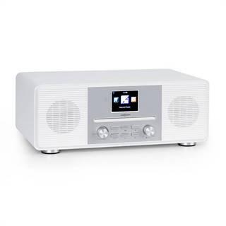 OneConcept Streamo CD, internetové rádio, 2 x 10 W, WLAN, DAB+, FM, CD přehrávač, BT, bílé