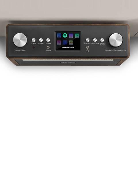 """Auna Auna Connect Soundchef, kuchyňské rádio, instalovatelné na spodní stranu skříňky, internet, DAB +, FM, 2x3 """"reproduktory, bílá barva"""